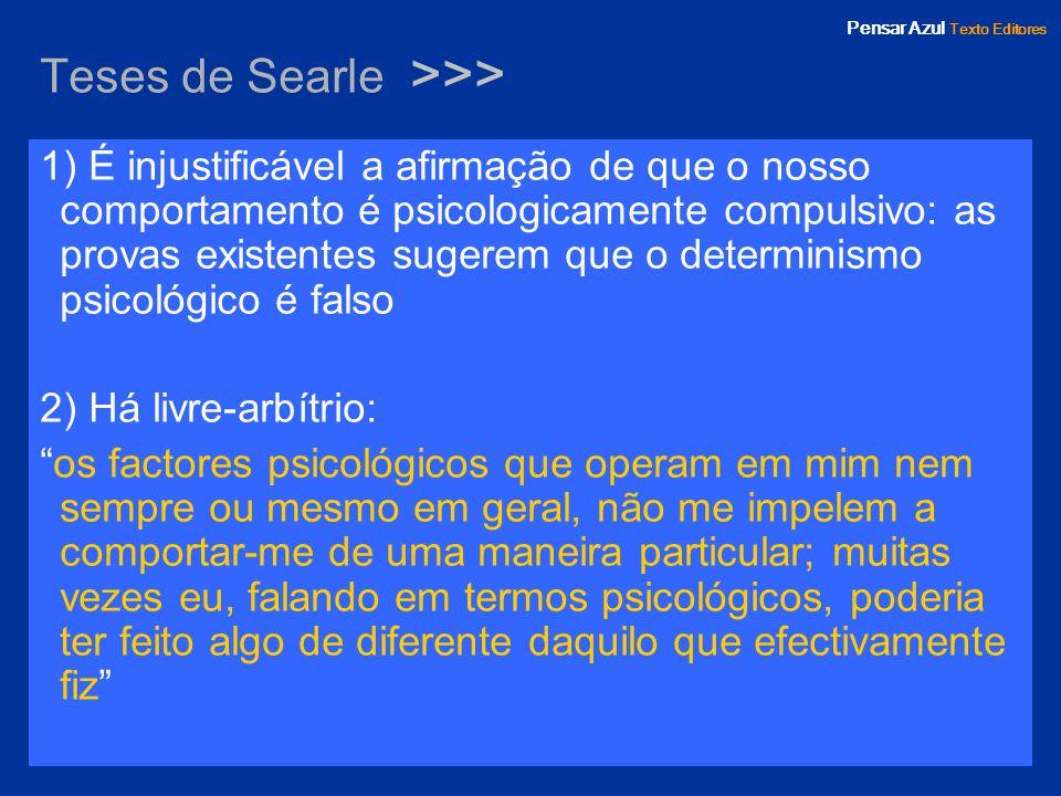 Teses de Searle >>>