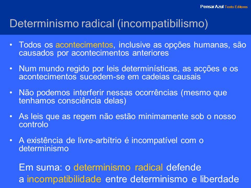 Determinismo radical (incompatibilismo)