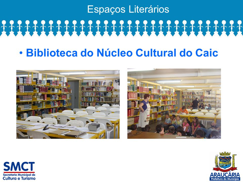 Biblioteca do Núcleo Cultural do Caic
