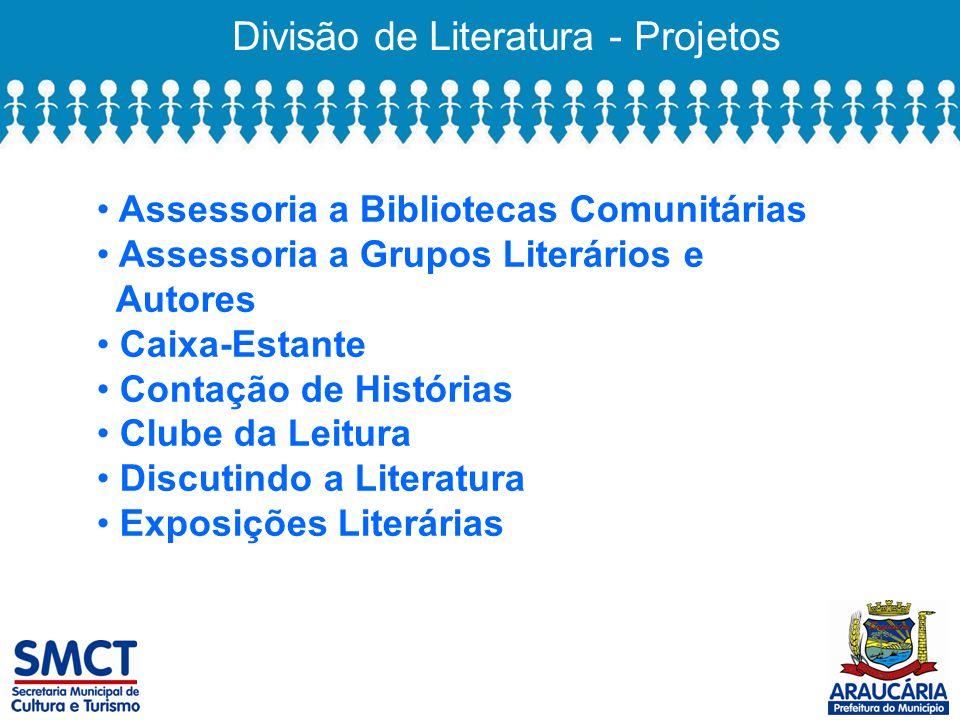 Divisão de Literatura - Projetos
