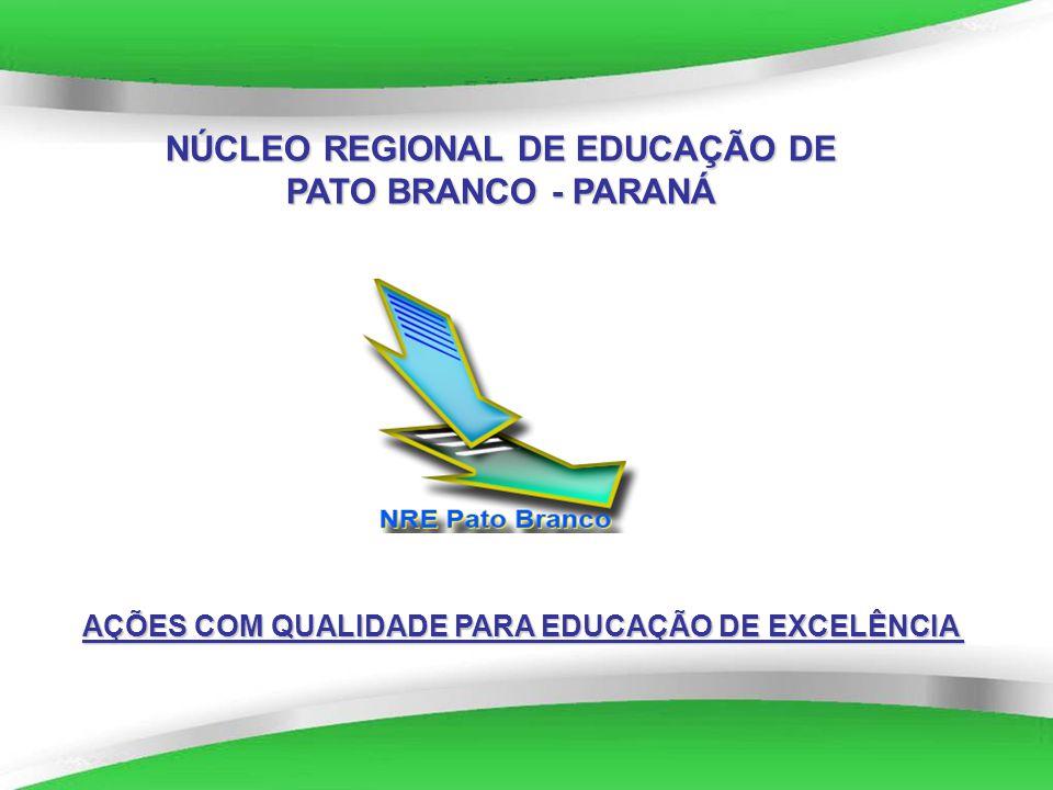 NÚCLEO REGIONAL DE EDUCAÇÃO DE PATO BRANCO - PARANÁ