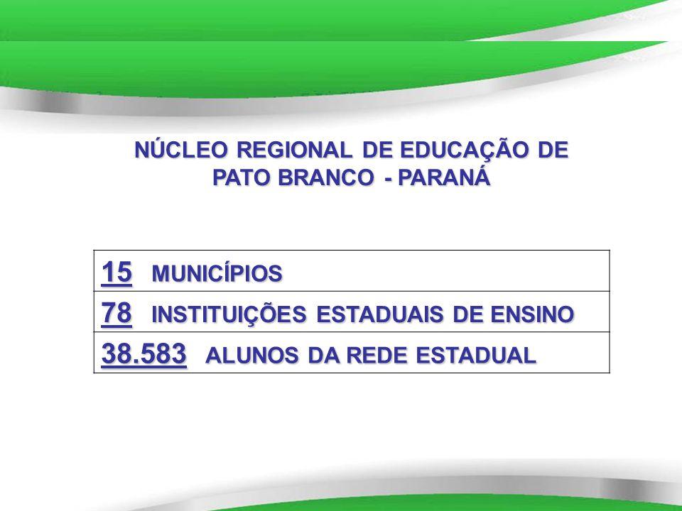 NÚCLEO REGIONAL DE EDUCAÇÃO DE