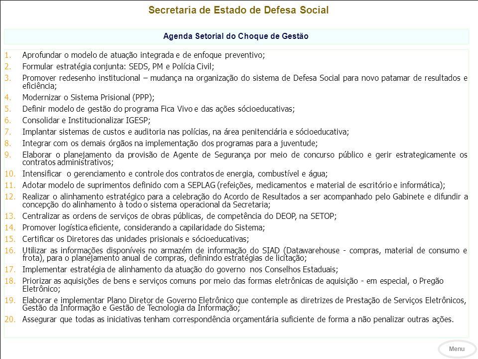 Secretaria de Estado de Defesa Social