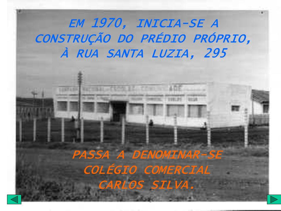 PASSA A DENOMINAR-SE COLÉGIO COMERCIAL CARLOS SILVA.