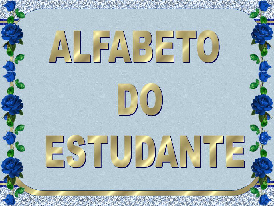 ALFABETO DO ESTUDANTE