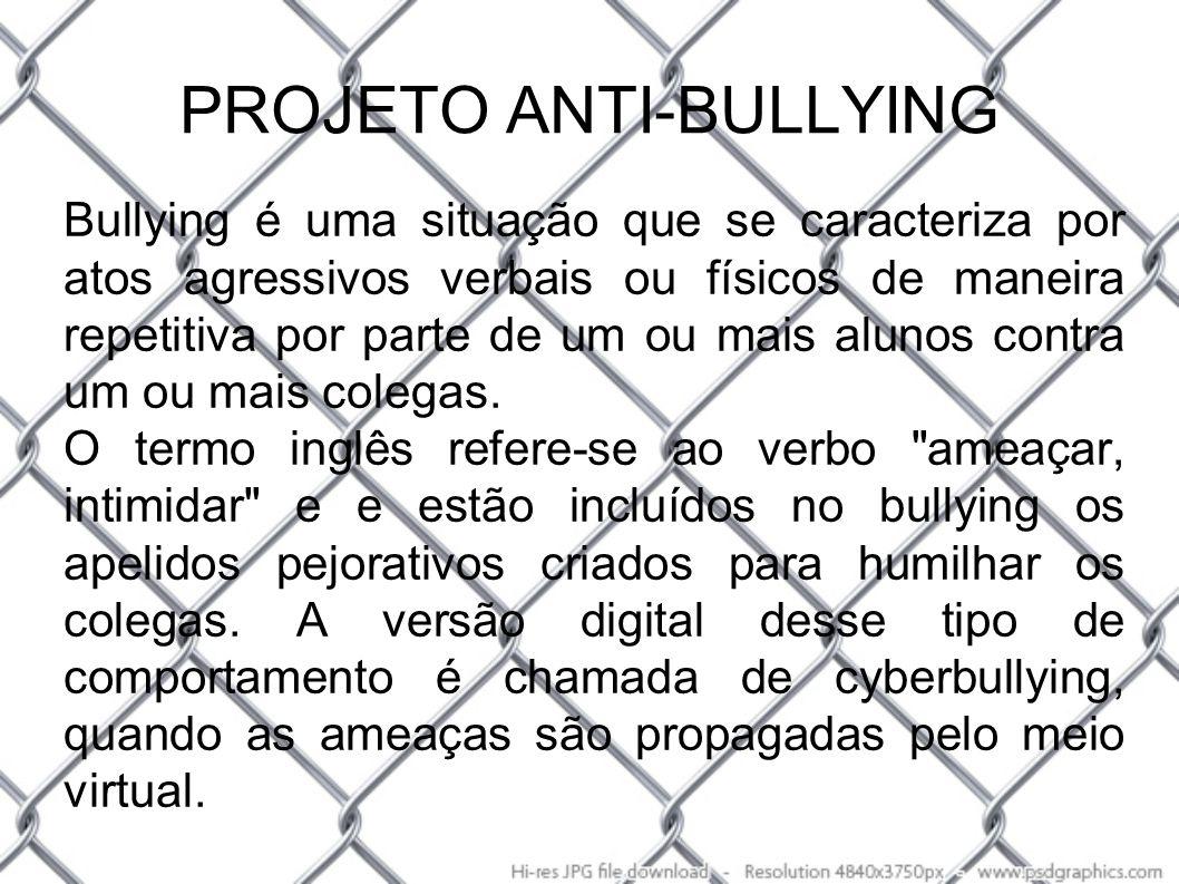 PROJETO ANTI-BULLYING