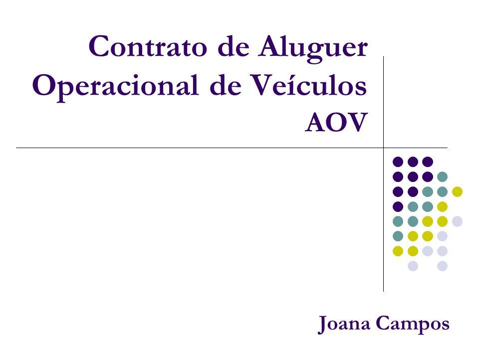 Contrato de Aluguer Operacional de Veículos AOV