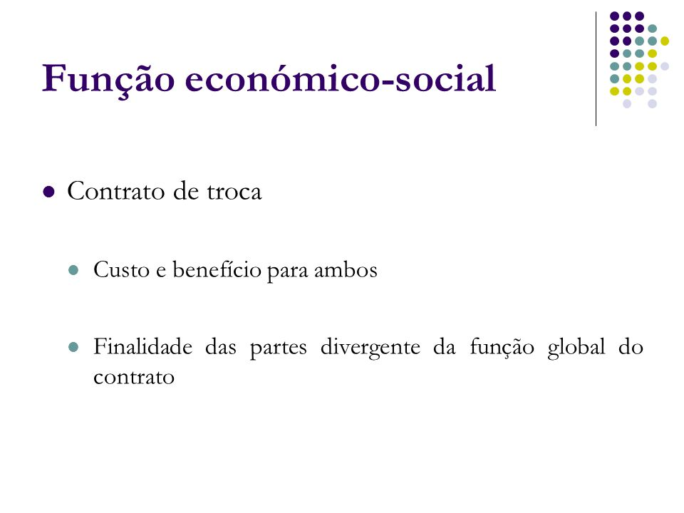 Função económico-social