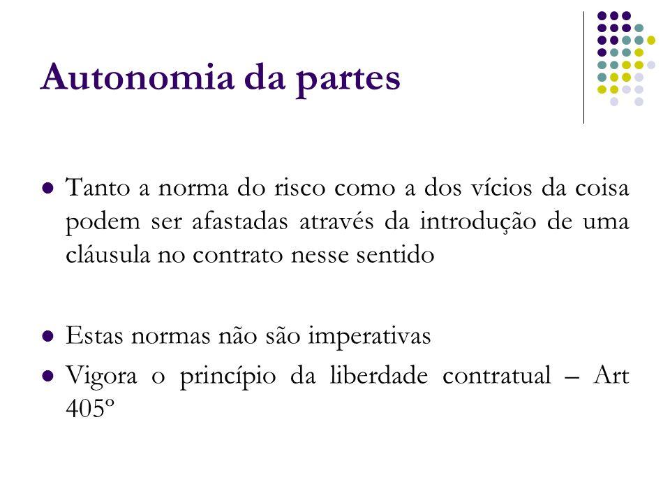 Autonomia da partes