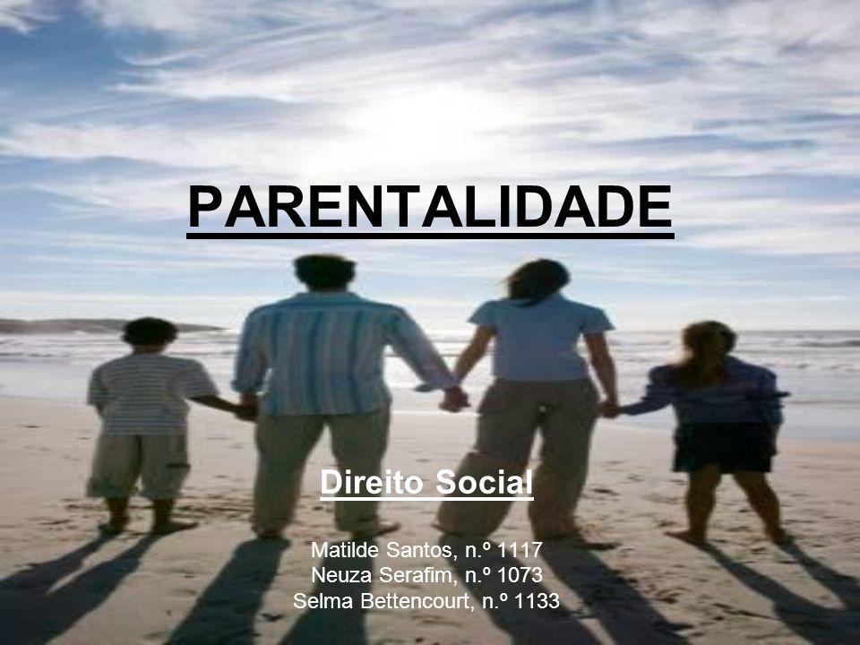 PARENTALIDADE Direito Social Matilde Santos, n.º 1117