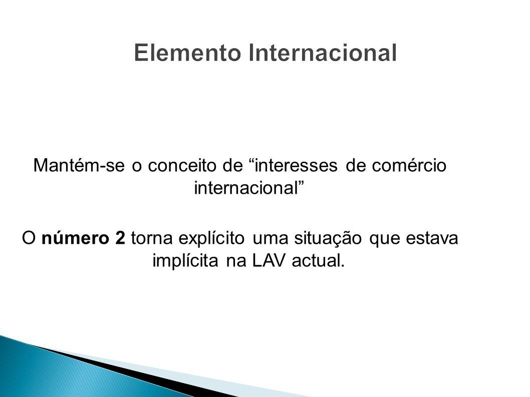 Elemento Internacional