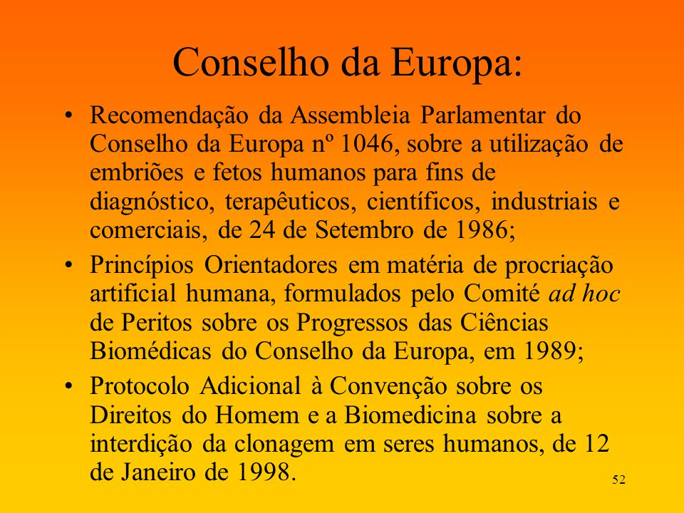 Conselho da Europa:
