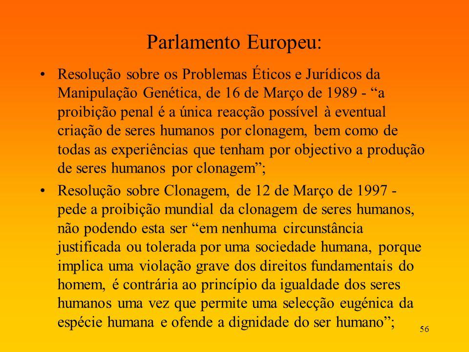Parlamento Europeu: