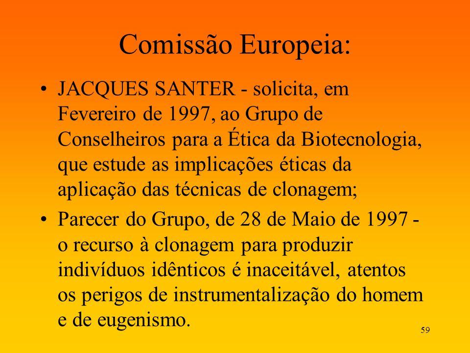 Comissão Europeia: