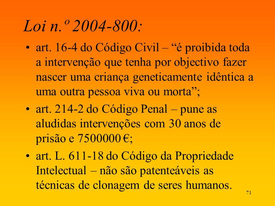 Loi n.º 2004-800: