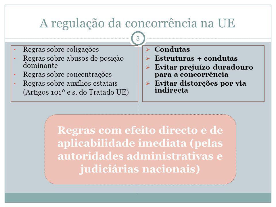 A regulação da concorrência na UE