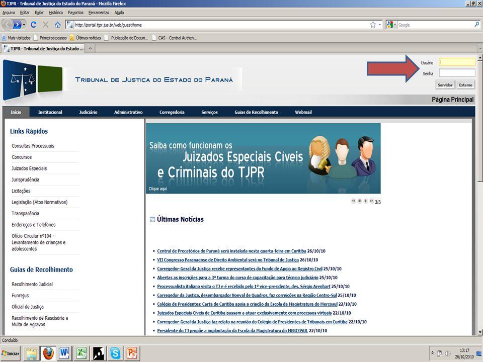 SLIDE 18 Para o classificação e assinatura das sentenças e das decisões interlocutórias, entre no site do Tribunal de Justiça;