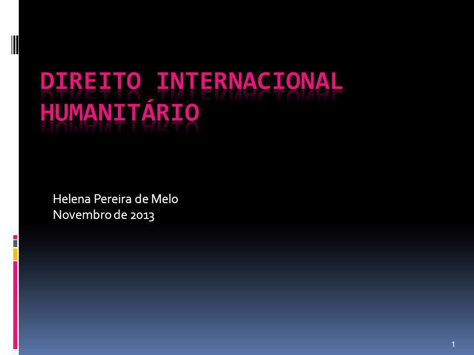 Direito Internacional Humanitário