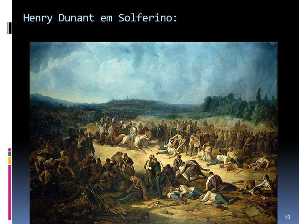 Henry Dunant em Solferino:
