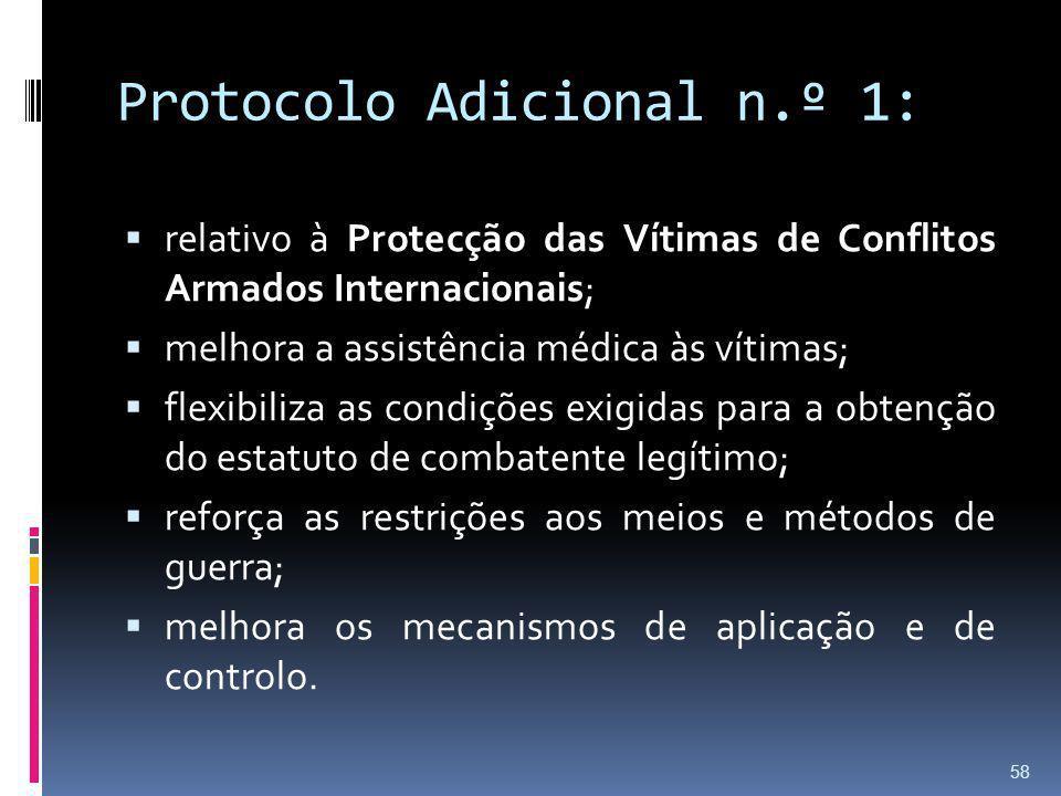 Protocolo Adicional n.º 1: