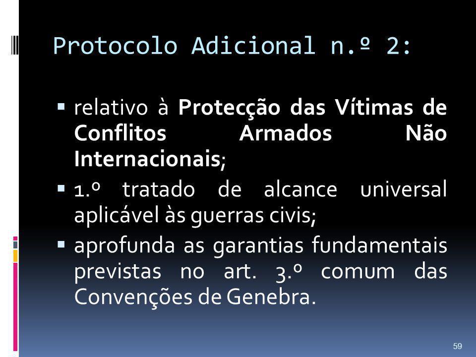 Protocolo Adicional n.º 2: