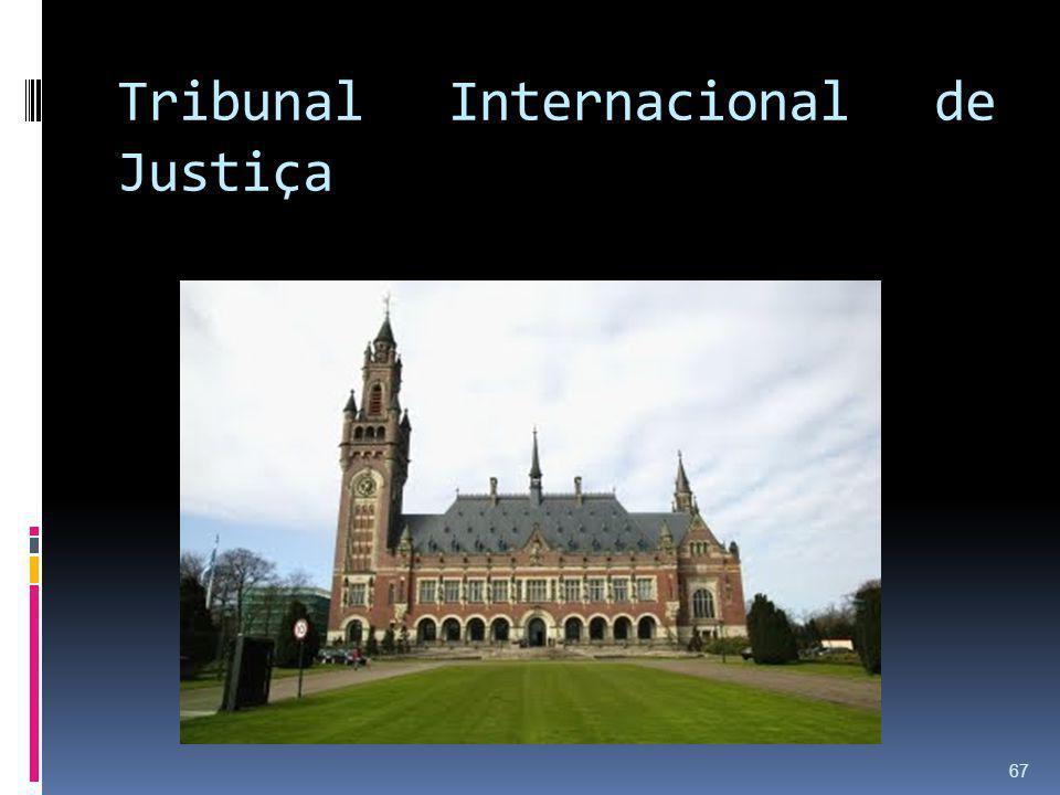Tribunal Internacional de Justiça