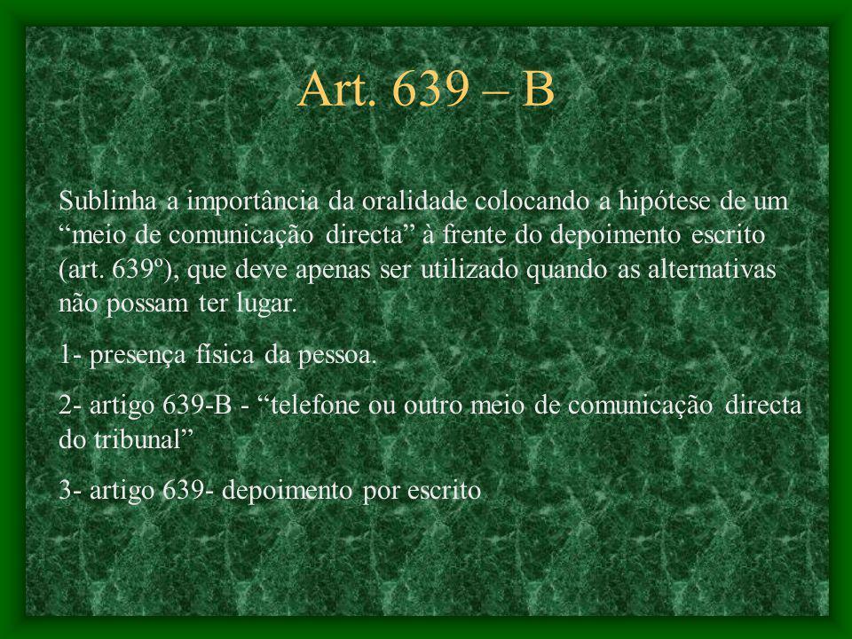Art. 639 – B
