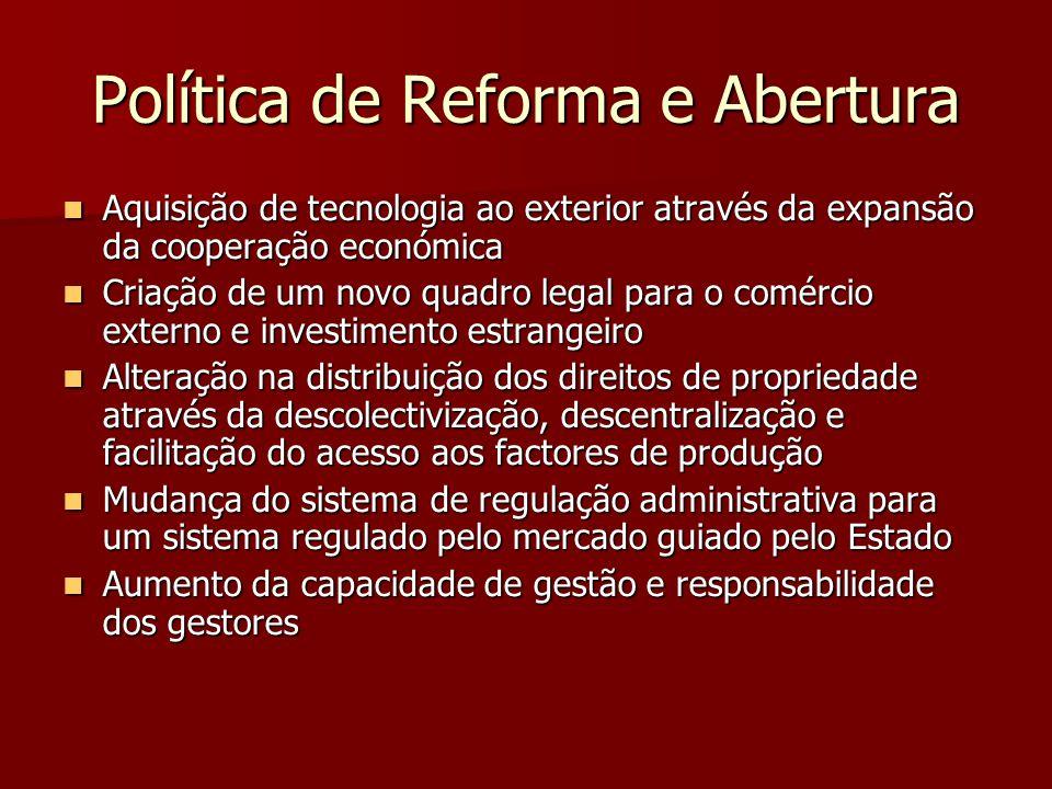 Política de Reforma e Abertura
