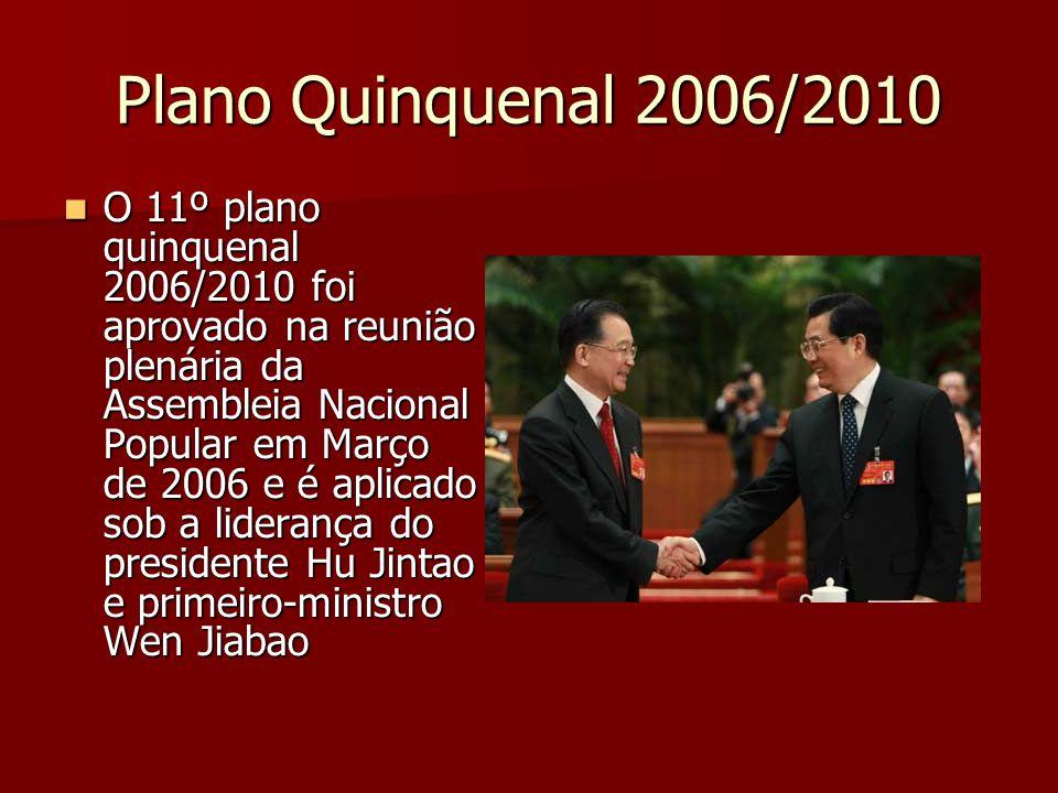 Plano Quinquenal 2006/2010