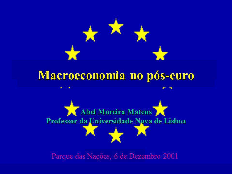 Macroeconomia no pós-euro