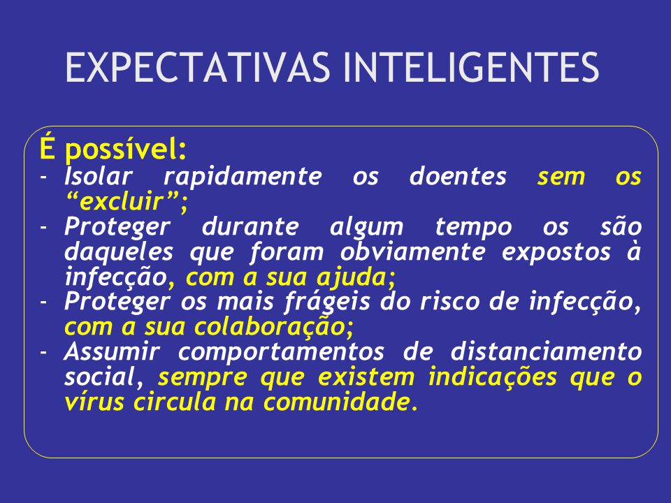 EXPECTATIVAS INTELIGENTES