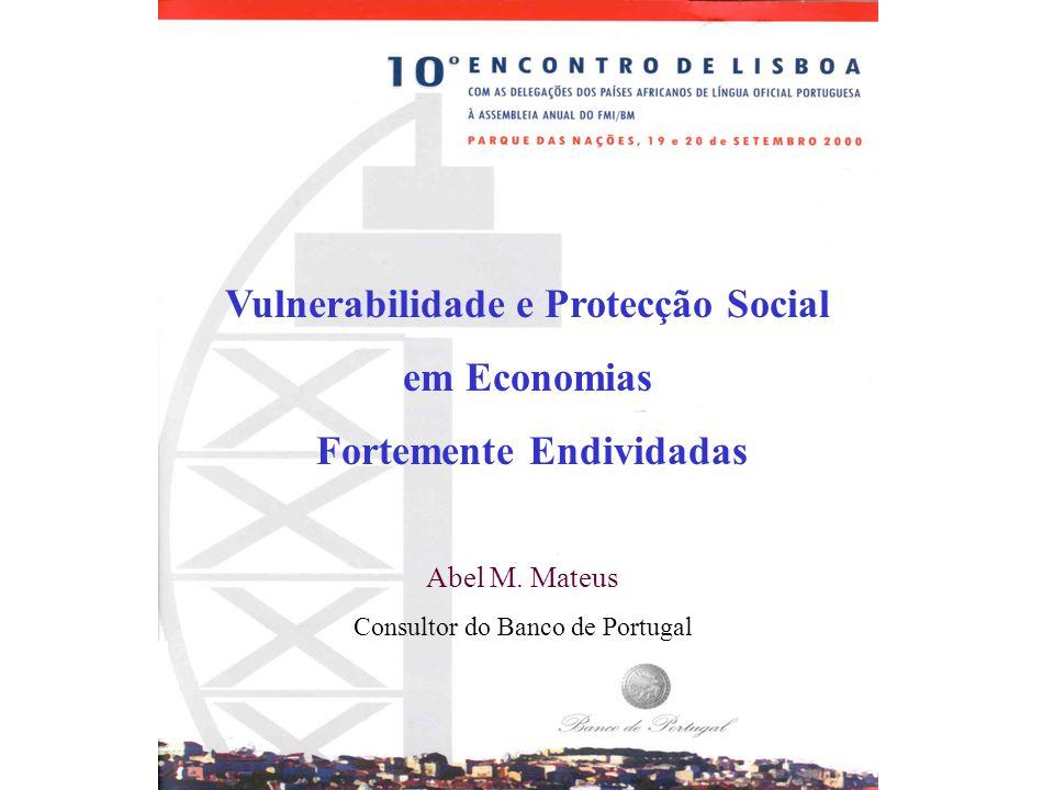 Vulnerabilidade e Protecção Social Fortemente Endividadas