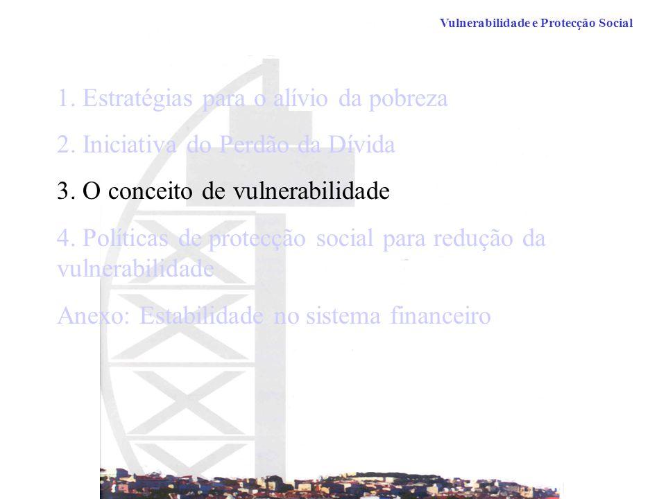 1. Estratégias para o alívio da pobreza