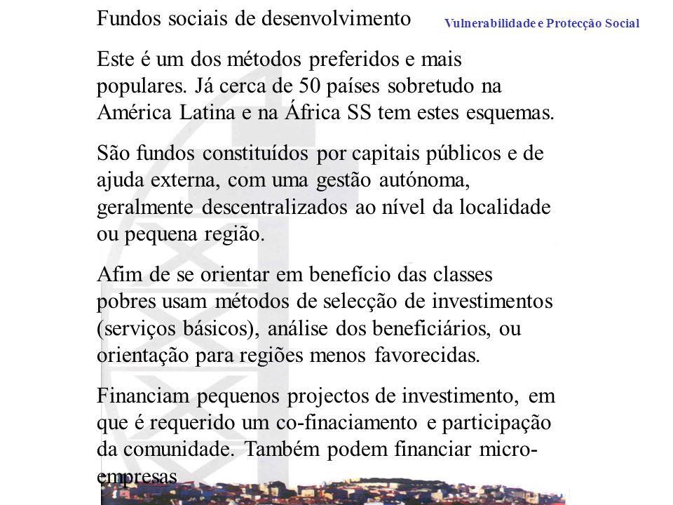 Fundos sociais de desenvolvimento