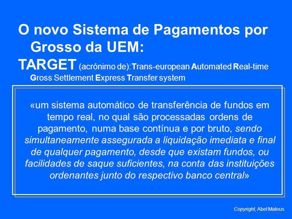O novo Sistema de Pagamentos por Grosso da UEM: