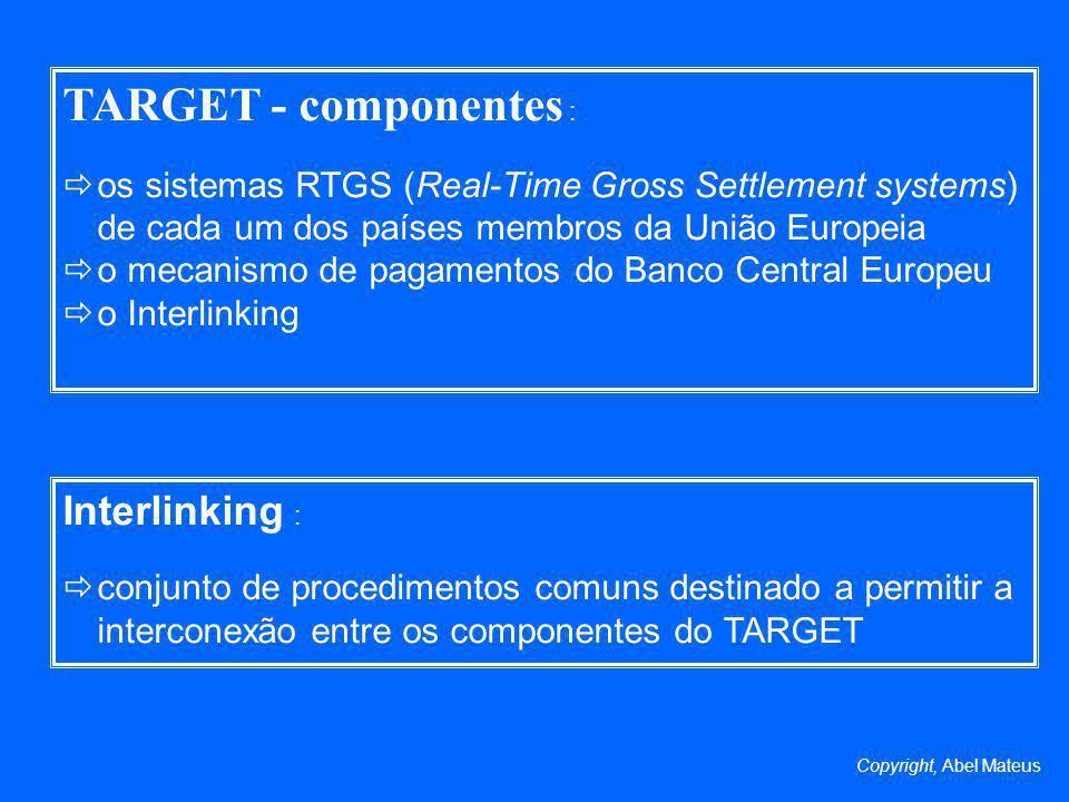 TARGET - componentes : Interlinking :
