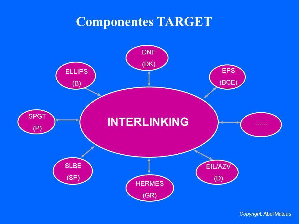 Componentes TARGET INTERLINKING DNF (DK) EPS ELLIPS (B) (BCE) SPGT (P)