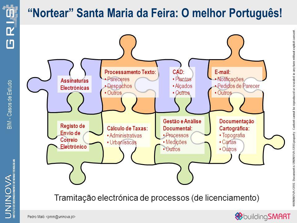Nortear Santa Maria da Feira: O melhor Português!