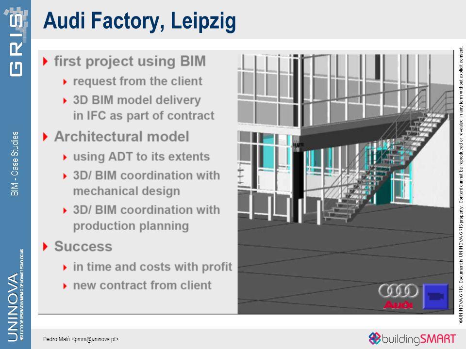 Audi Factory, Leipzig BIM - Case Studies