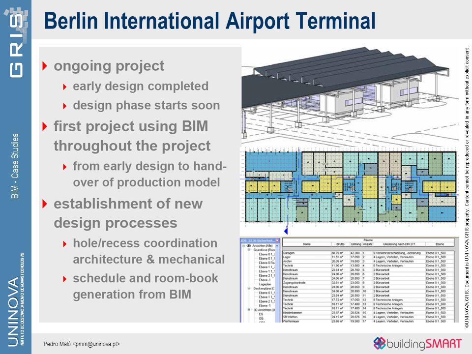 Berlin International Airport Terminal