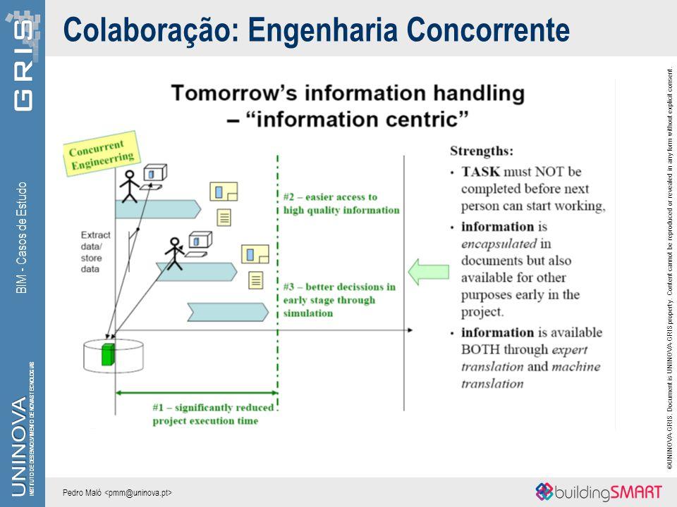 Colaboração: Engenharia Concorrente
