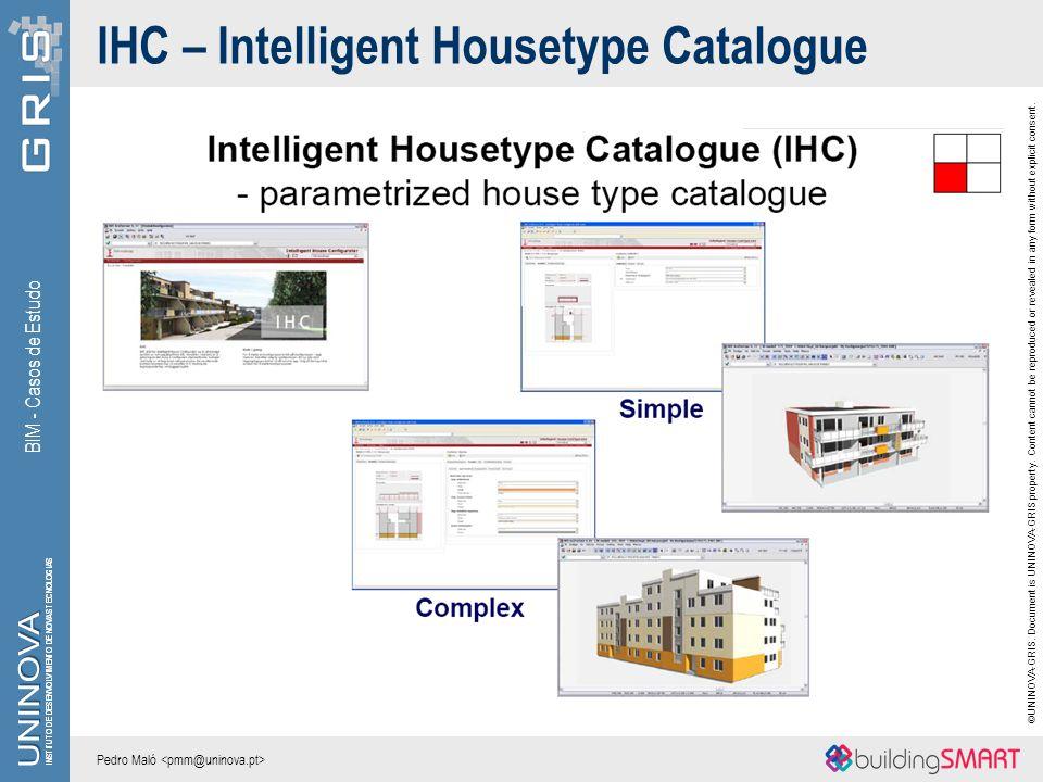 IHC – Intelligent Housetype Catalogue