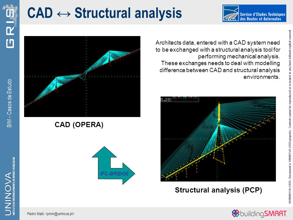 CAD ↔ Structural analysis