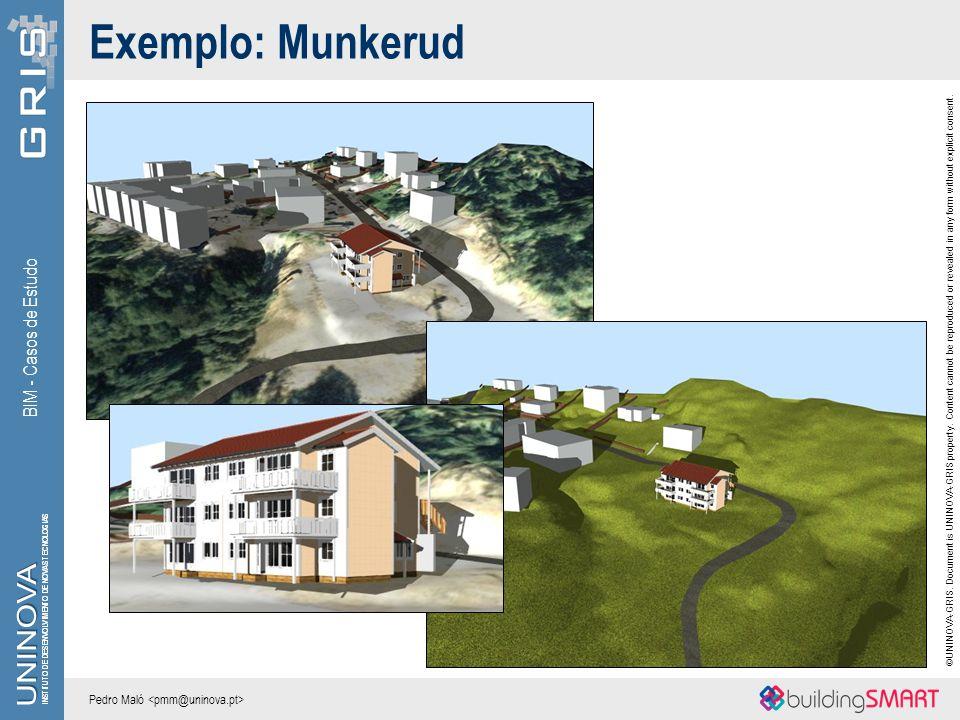 Exemplo: Munkerud BIM - Casos de Estudo