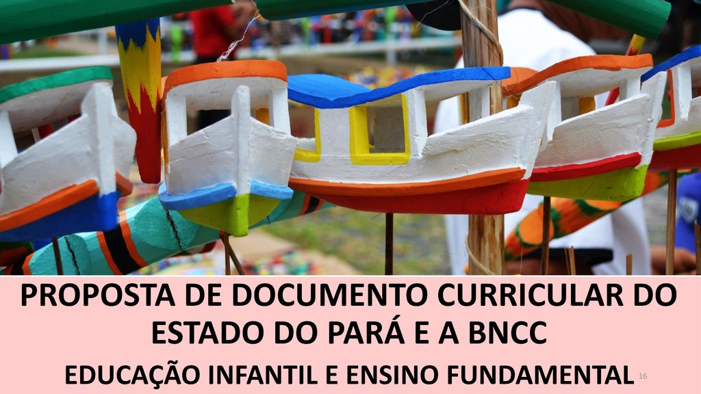 PROPOSTA DE DOCUMENTO CURRICULAR DO ESTADO DO PARÁ E A BNCC
