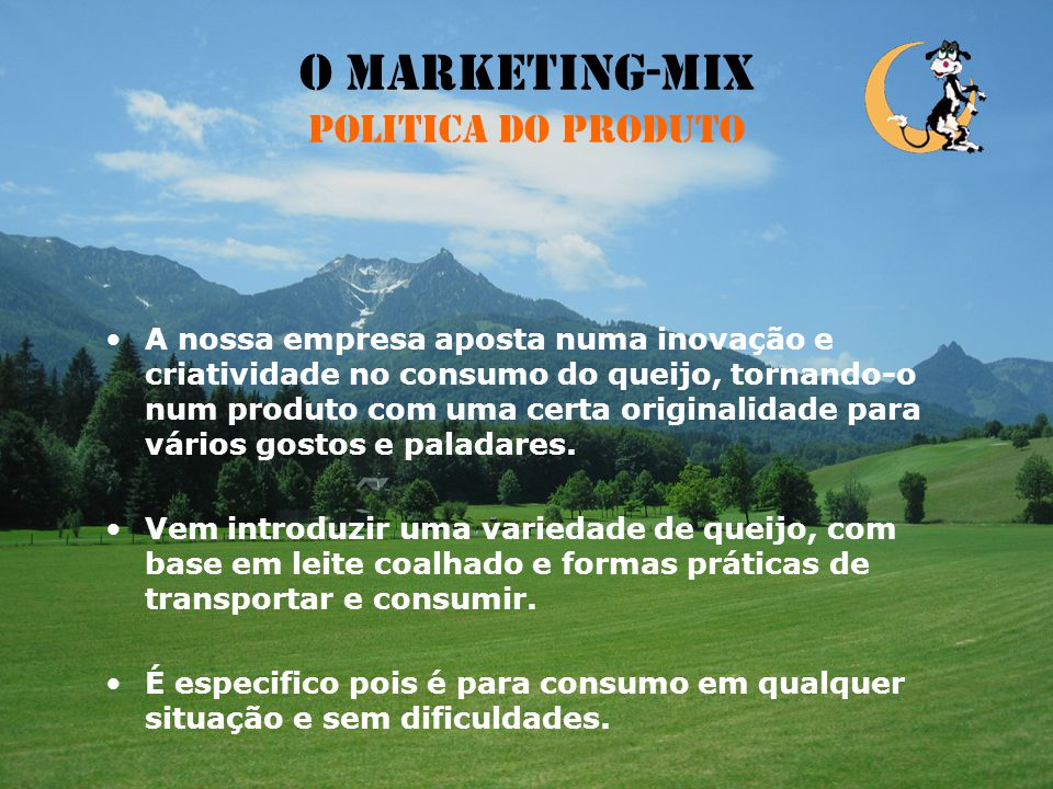 O Marketing-Mix Politica do Produto