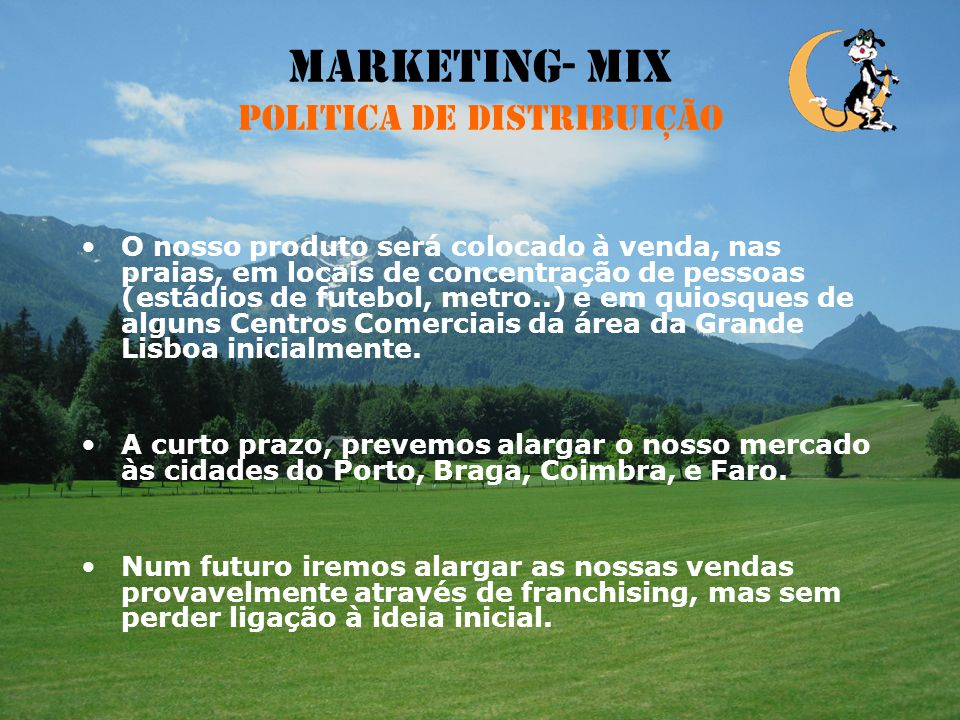 Marketing- Mix Politica de distribuição