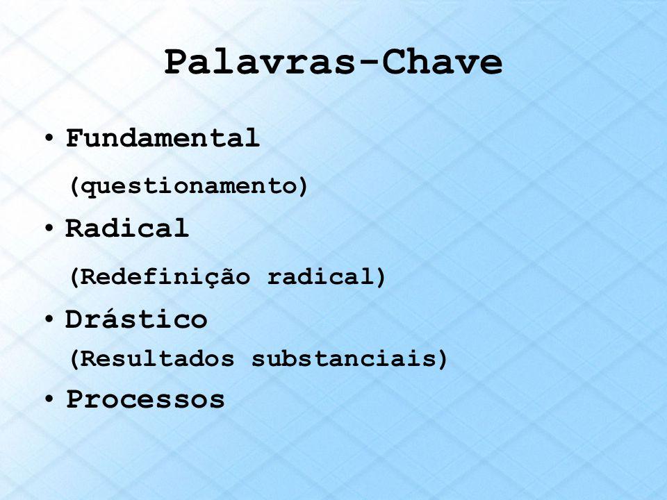 Palavras-Chave (questionamento) (Redefinição radical) Fundamental