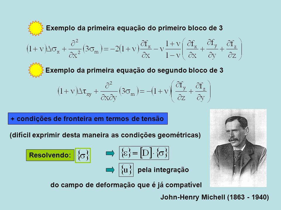 Exemplo da primeira equação do primeiro bloco de 3