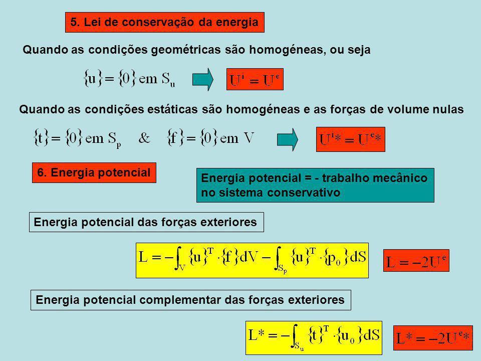 5. Lei de conservação da energia